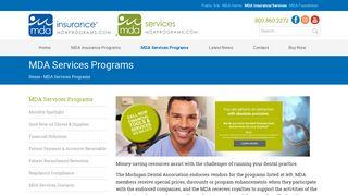MDA Insurance > MDA Services Programs