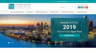 Michigan Dental Association > Smile Michigan Professional > Home