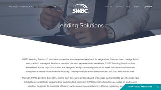 Lending Solutions | SWBC