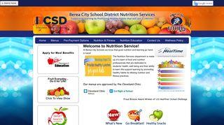 Berea City School District - School Nutrition And Fitness