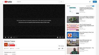 Medcom Trainex - YouTube