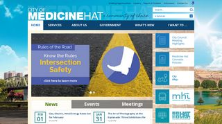 City of Medicine Hat   Home