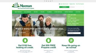 Heating Oil, Propane, AC, Plumbing | Meenan | Philadelphia, PA ...