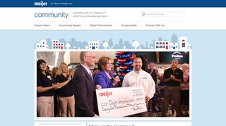 Meijer Community | Partnering with our neighbors to enrich the ...