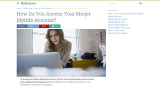 How Do You Access Your Meijer MyInfo Account? | Reference.com