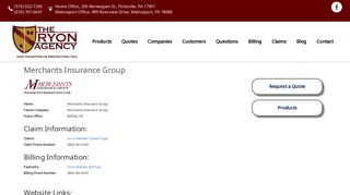 Merchants Insurance Group - Insurance Company