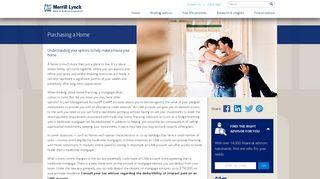 Purchasing a Home - Merrill Lynch
