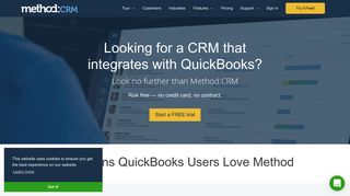 Method:CRM | The Most Customizable QuickBooks CRM on the Market