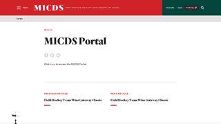 MICDS Portal - MICDS
