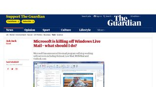 Microsoft is killing off Windows Live Mail – what should I do ...