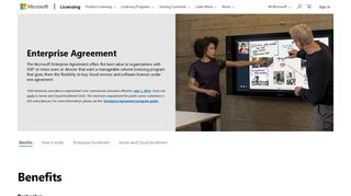Enterprise Agreement | Microsoft Volume Licensing