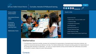 Mathematics - Fresno Unified School District