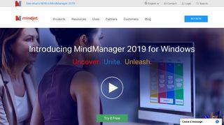 Mind Mapping Software for Visualizing Ideas   Mindjet MindManager ...