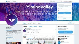 Mindvalley (@mindvalley)   Twitter