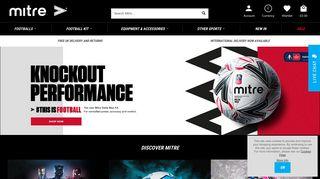 Mitre Sports International   Clothing, Balls & Equipment