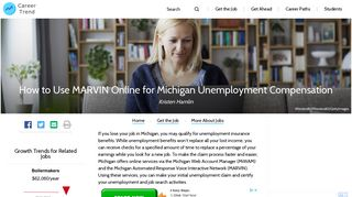 How to Use MARVIN Online for Michigan Unemployment ...