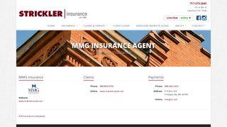 MMG Insurance Agent in PA   Strickler Insurance in Lebanon ...