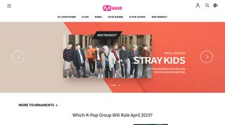 Mwave - All things about K-POP: Chart, News, Video, Store, and More