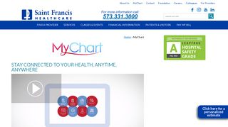 MyChart - Stay connected to your health, anytime, anywhere.