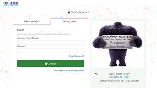 Login to Monster.co.uk - Monster for Employer