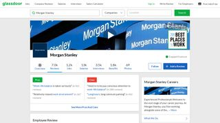 Morgan Stanley - If going into Payroll BEWARE.....enter at your own ...