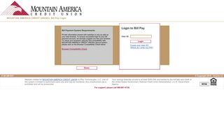MOUNTAIN AMERICA CREDIT UNION's Bill Pay