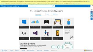 Microsoft Virtual Academy – Free Online Training for Developers, IT ...