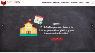 Madison School District: Home