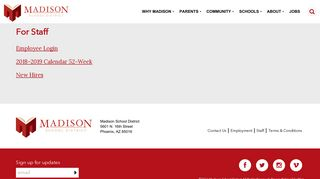 Staff - Madison School District