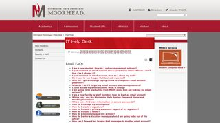 Email Frequently Asked Questions from the IT Help Desk | Minnesota ...