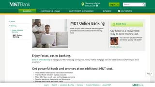 M&T Online Banking | M&T Bank