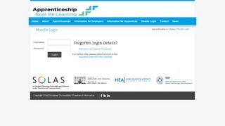Home - Moodle Login - Apprenticeship.ie