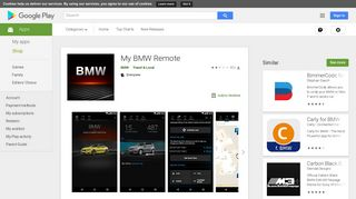 My BMW Remote - Apps on Google Play