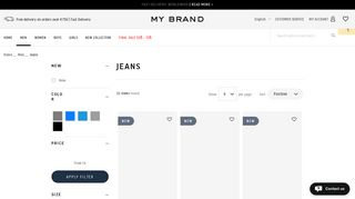Looking for a my brand jeans or specifically a my brand men's jeans ...