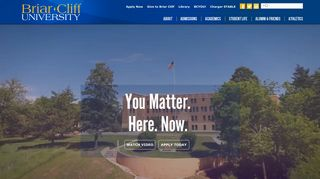 Briar Cliff University | The Catholic Franciscan Learning Place
