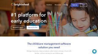Childcare App & Software for Preschools - brightwheel