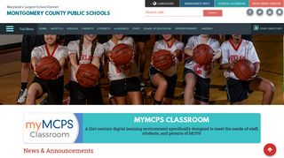 myMCPS Classroom - Montgomery County Public Schools