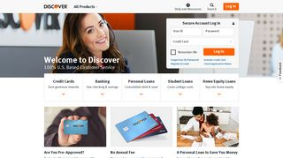 Discover - Card Services, Banking & Loans