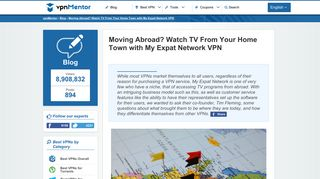 Moving Abroad? Watch TV From Your Home Town with My Expat ...