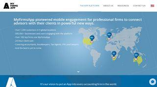 The MyFirmsApp Platform – World-Leading App for American CPAs ...