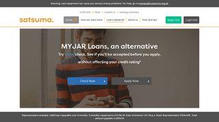 My Jar Loans alternative   Satsuma Loans