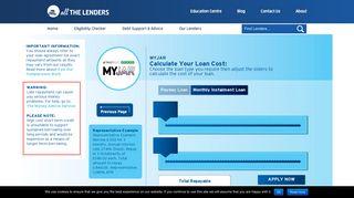 MYJAR short term loans - allthelenders