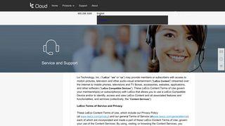 Subscription Agreement - LeCloud