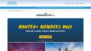 Mantra+ Hotel Deals - Members Only