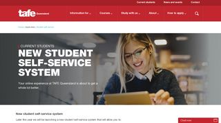 Student Self Service System - TAFE Queensland