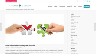 How to Send and Receive GoDaddy Email From Gmail - Front Door PR
