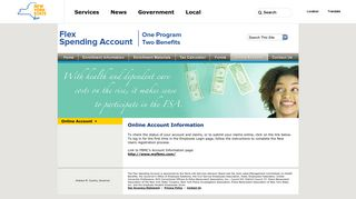 New York State's Flexible Spending Accounts - Online Account ...