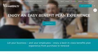Employee Health Plan Experience| GroupHEALTH