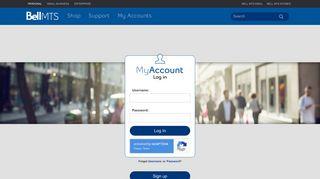 MyAccount Login   MTS - Bell MTS