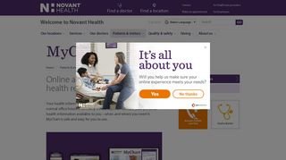 MyChart   Novant Health